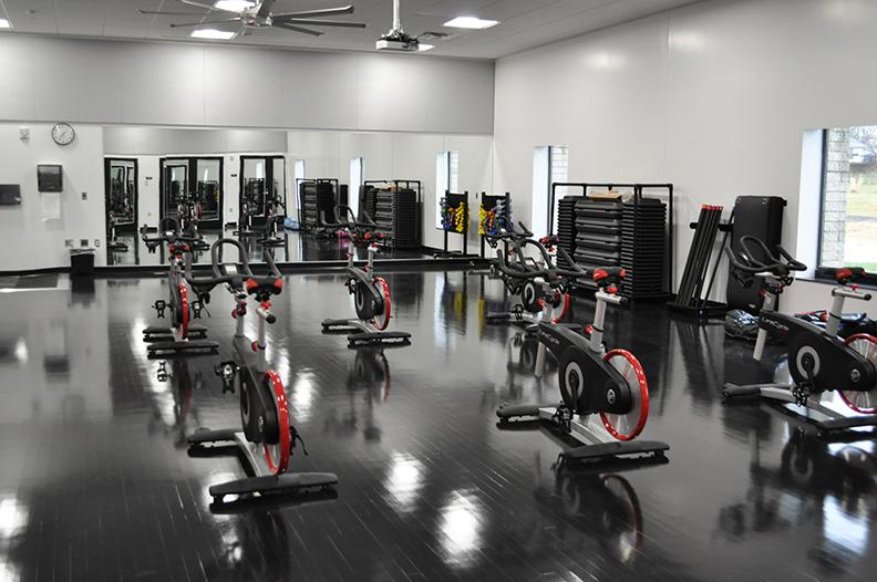 Spin Class at the Adena Recreation Center