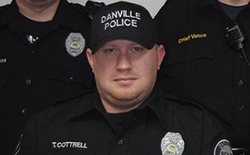 Photo of Officer Cottrell
