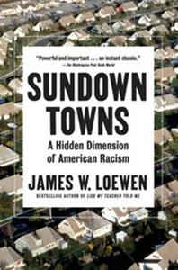 Book Cover of James Loewen's Sundown Towns