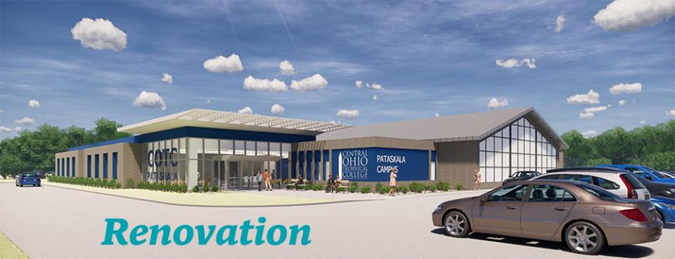 Rendering of the COTC Pataskala Campus Renovation